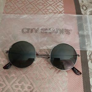 City Shades circular sunglasses